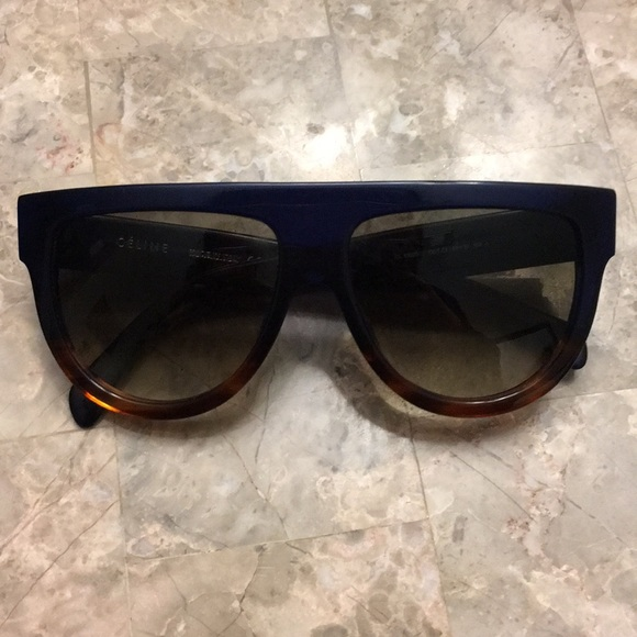 d82c61bcfd7cf Celine Accessories - Celine Aviator Shadow Sunglasses in acetate